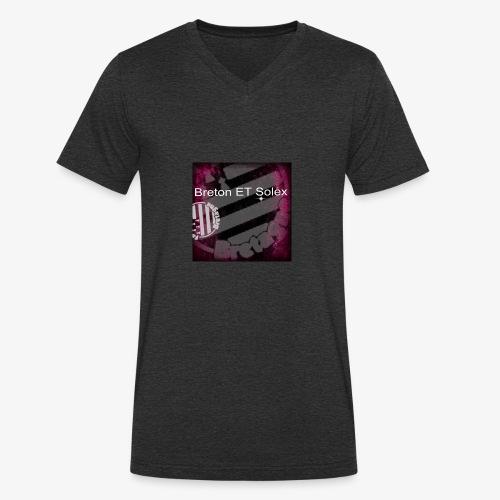breton - T-shirt bio col V Stanley & Stella Homme