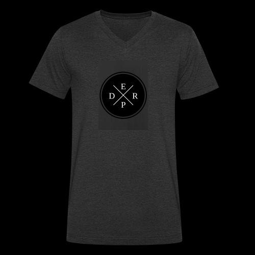 Derpy tee - Ekologisk T-shirt med V-ringning herr från Stanley & Stella
