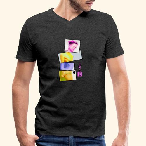 Untitled 3 explose - T-shirt bio col V Stanley & Stella Homme