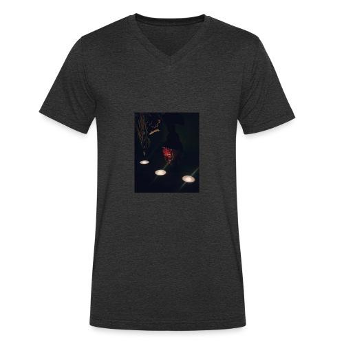 Relax - Men's Organic V-Neck T-Shirt by Stanley & Stella