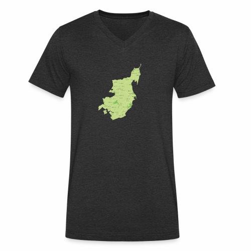 Mors - Økologisk Stanley & Stella T-shirt med V-udskæring til herrer