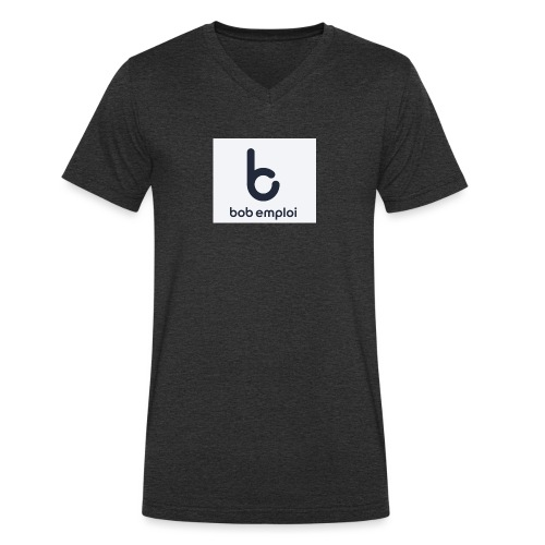 Logo_Bob_Emploi - T-shirt bio col V Stanley & Stella Homme