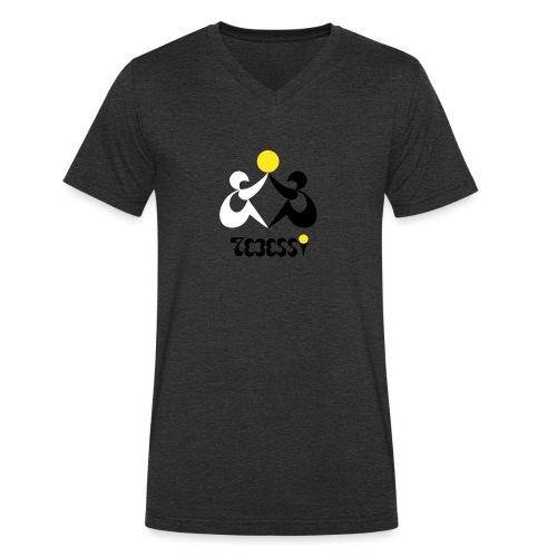 Logo Tebessy Soleil - T-shirt bio col V Stanley & Stella Homme