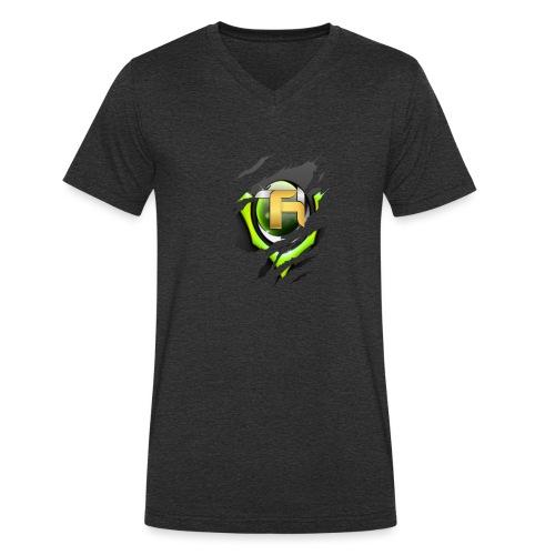 tobietube merch - Men's Organic V-Neck T-Shirt by Stanley & Stella