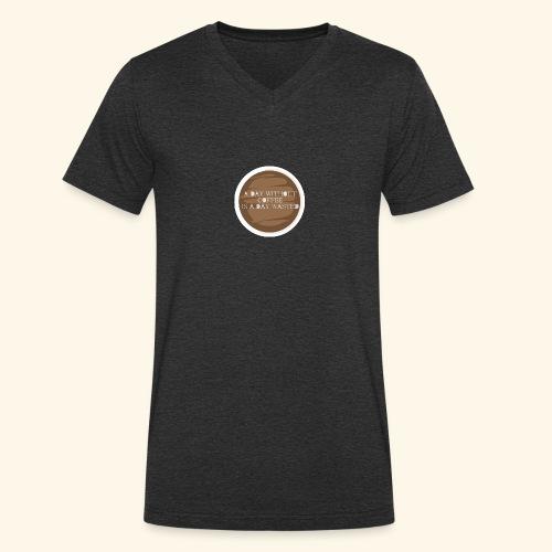 coffee - Ekologisk T-shirt med V-ringning herr från Stanley & Stella