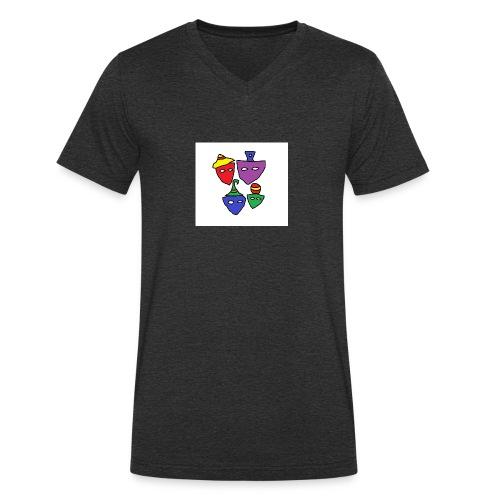 Such Faces - Ekologisk T-shirt med V-ringning herr från Stanley & Stella