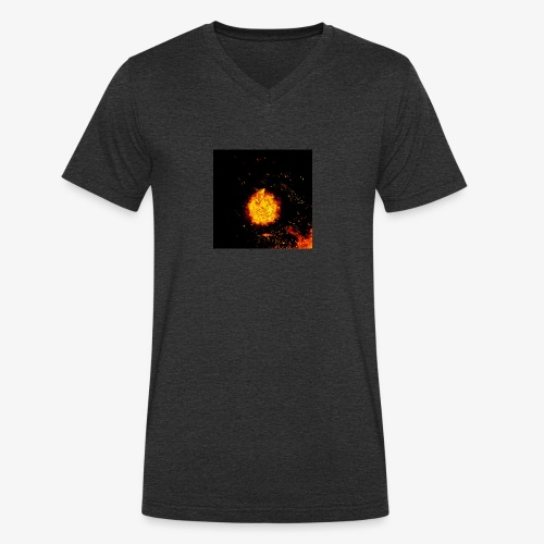 FIRE BEAST - Mannen bio T-shirt met V-hals van Stanley & Stella