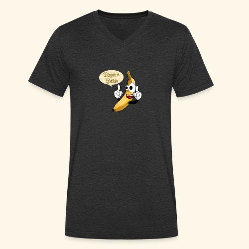 The big banana - T-shirt ecologica da uomo con scollo a V di Stanley & Stella