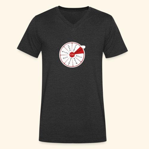 wheel of (not)fortune - T-shirt ecologica da uomo con scollo a V di Stanley & Stella