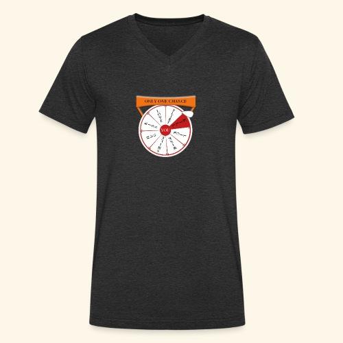 wheel of fortune? - T-shirt ecologica da uomo con scollo a V di Stanley & Stella