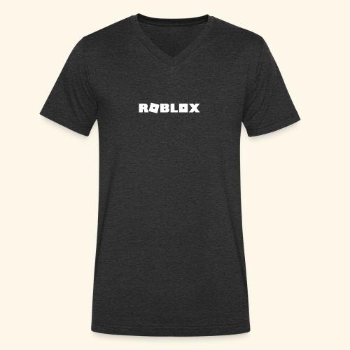 Roblox - Men's Organic V-Neck T-Shirt by Stanley & Stella