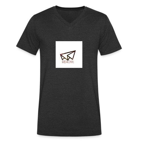 REACHit - T-shirt bio col V Stanley & Stella Homme