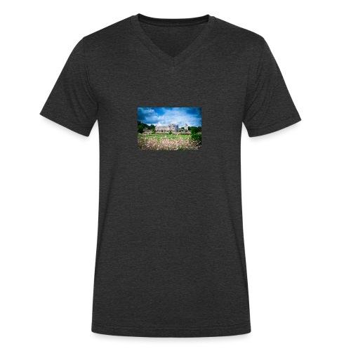 Barbara Mapelli - Castello di Chenonceau, Francia - T-shirt ecologica da uomo con scollo a V di Stanley & Stella