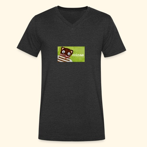 ciunas - Men's Organic V-Neck T-Shirt by Stanley & Stella