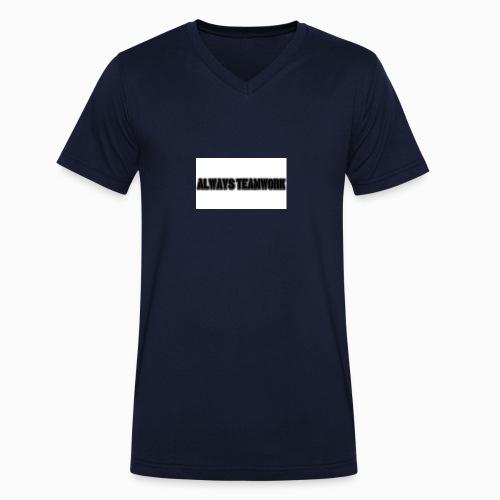 at team - Mannen bio T-shirt met V-hals van Stanley & Stella