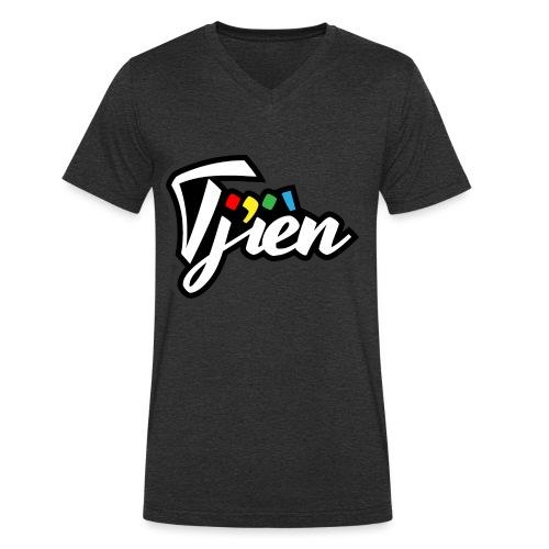 Tjien Logo Design - Mannen bio T-shirt met V-hals van Stanley & Stella