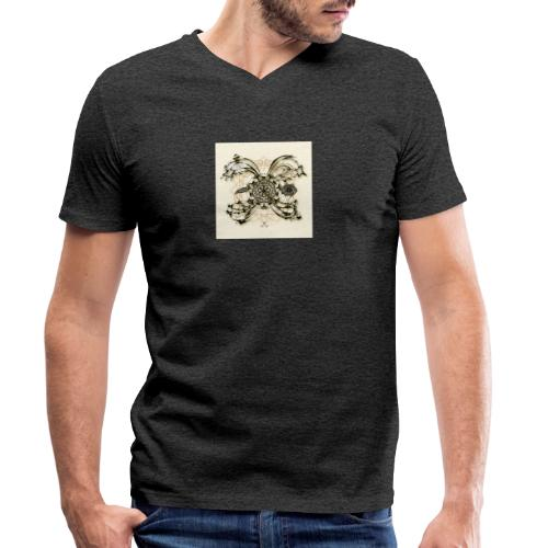 Tortuga 160220 ds. A + - Men's Organic V-Neck T-Shirt by Stanley & Stella