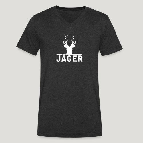 Jäger! Jäger Shirt Jaeger - Männer Bio-T-Shirt mit V-Ausschnitt von Stanley & Stella