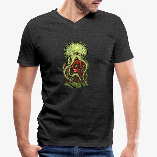 Attaque extraterrestre - T-shirt bio col V Stanley & Stella Homme