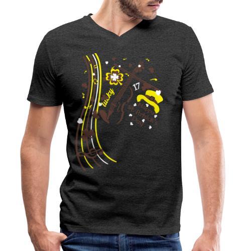 St.Patrick's Day - Men's Organic V-Neck T-Shirt by Stanley & Stella