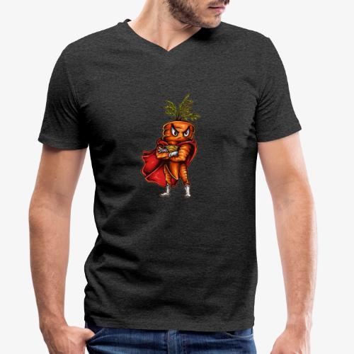 Super Carotte - T-shirt bio col V Stanley & Stella Homme