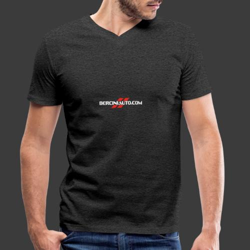 berciniauto - T-shirt ecologica da uomo con scollo a V di Stanley & Stella