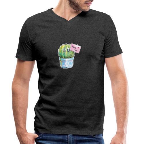hug me - Männer Bio-T-Shirt mit V-Ausschnitt von Stanley & Stella