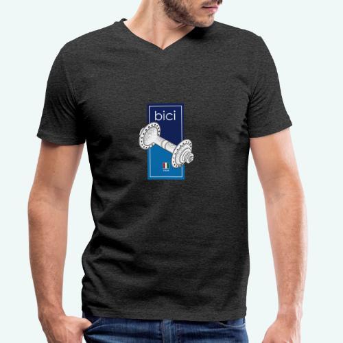 Bici - Männer Bio-T-Shirt mit V-Ausschnitt von Stanley & Stella