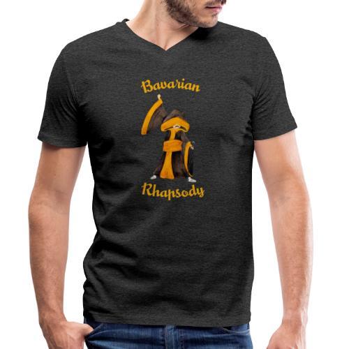 Münchner Mercury Kindl – Tribute to Freddie - Männer Bio-T-Shirt mit V-Ausschnitt von Stanley & Stella