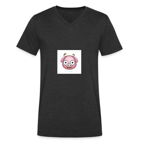 36AF2B8E 722F 4D6C A7D8 35F6D8CD96E7 - Men's Organic V-Neck T-Shirt by Stanley & Stella