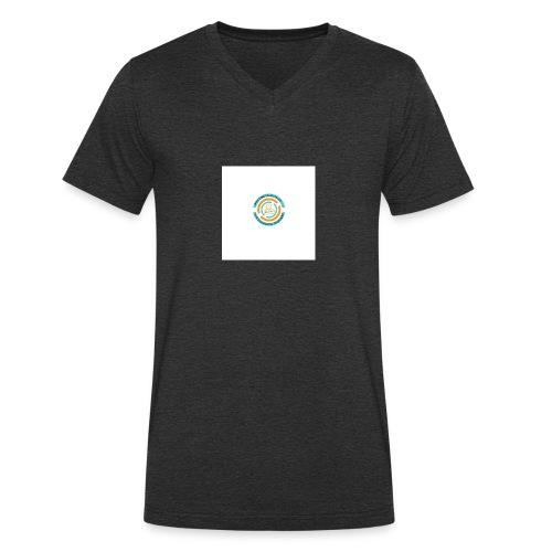 Lima Projects LOGO - Männer Bio-T-Shirt mit V-Ausschnitt von Stanley & Stella
