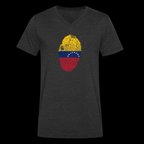 venezuela 653088 1920 - Camiseta ecológica hombre con cuello de pico de Stanley & Stella