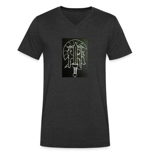 RÖMERSHIRT - Männer Bio-T-Shirt mit V-Ausschnitt von Stanley & Stella