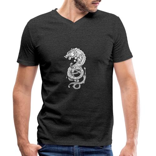 Le Loup Fenrir - T-shirt bio col V Stanley & Stella Homme