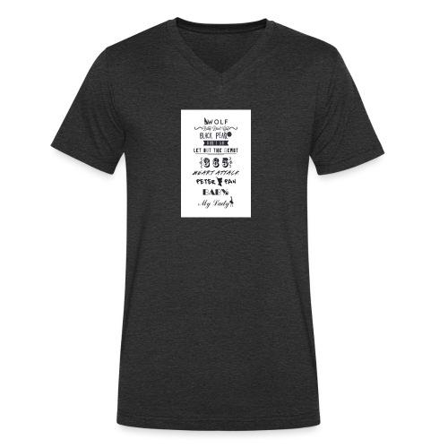 fun - T-shirt bio col V Stanley & Stella Homme