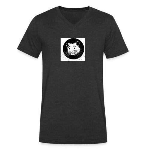 HAMSTER HUG - T-shirt bio col V Stanley & Stella Homme