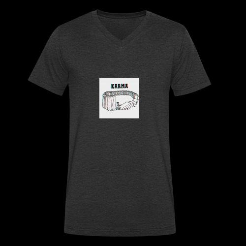 Karma - T-shirt bio col V Stanley & Stella Homme