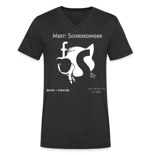 Schroedinger. The Feline&Strange band logo shirt. - Männer Bio-T-Shirt mit V-Ausschnitt von Stanley & Stella