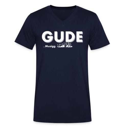 GudeMusigg png - Männer Bio-T-Shirt mit V-Ausschnitt von Stanley & Stella