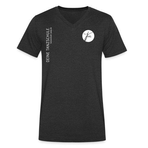 Tanzschule JAAG - Männer Bio-T-Shirt mit V-Ausschnitt von Stanley & Stella