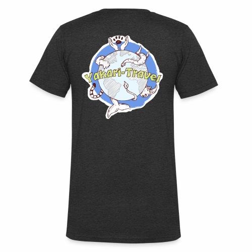 Logo von Yakari-Travel - Männer Bio-T-Shirt mit V-Ausschnitt von Stanley & Stella