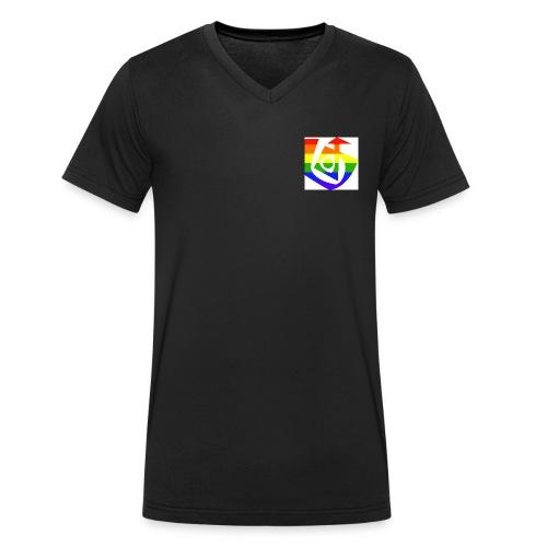 Queer Soul[287] - Männer Bio-T-Shirt mit V-Ausschnitt von Stanley & Stella
