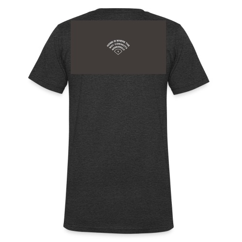 HOME IS WHERE THE WIFI CONNECTS AUTOMATICALLY - Økologisk Stanley & Stella T-shirt med V-udskæring til herrer