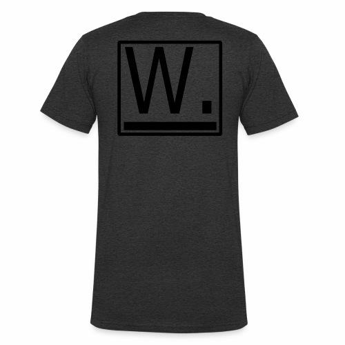 W. - Mannen bio T-shirt met V-hals van Stanley & Stella