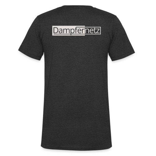 Dampfernetz Logo - Männer Bio-T-Shirt mit V-Ausschnitt von Stanley & Stella