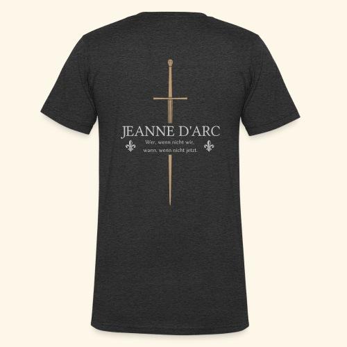 Jeanne d arc - Männer Bio-T-Shirt mit V-Ausschnitt von Stanley & Stella
