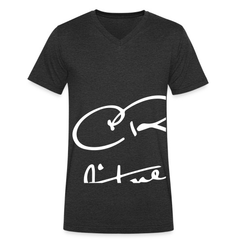 shirtfrontdesign - Ekologisk T-shirt med V-ringning herr från Stanley & Stella