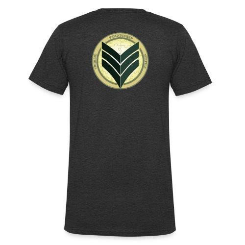 VVV Motorweekend - Mannen bio T-shirt met V-hals van Stanley & Stella