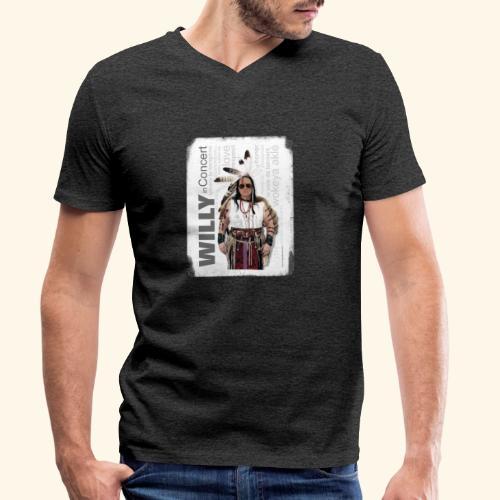 Shirt N19 - Männer Bio-T-Shirt mit V-Ausschnitt von Stanley & Stella