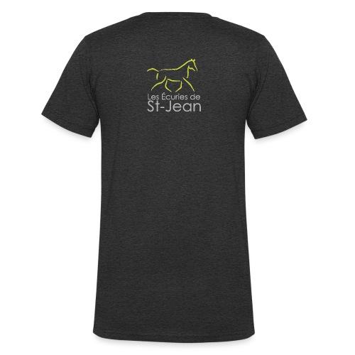 Ecuries de St Jean - T-shirt bio col V Stanley & Stella Homme